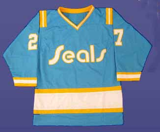 Jersey Monday: California Golden Seals '74-76